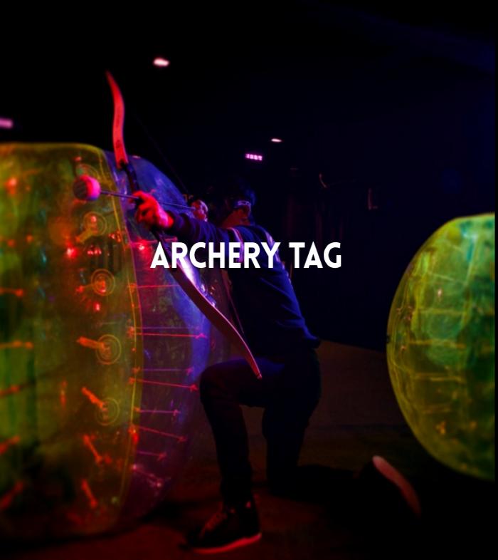 Arena Vision Lights: Archery Tag Hong Kong